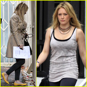 Hilary Duff: Tribeca Studios Stop