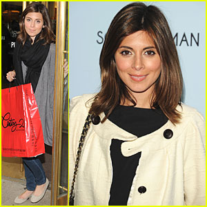 Jamie-Lynn Sigler: Father's Day Shopping Spree!
