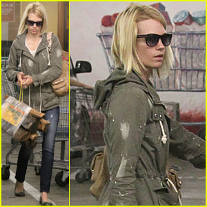 January Jones Heats Up Culver City