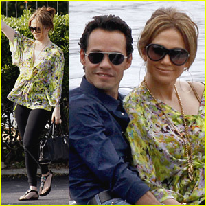 Jennifer Lopez & Marc Anthony Frequent France