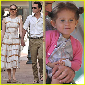 Jennifer Lopez & Marc Anthony: Pucci Pair