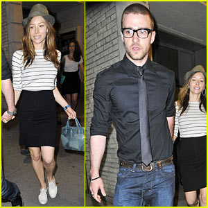 Justin Timberlake & Jessica Biel: 'In The Heights' on Broadway!