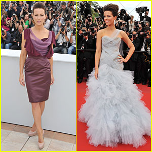 Kate Beckinsale Kicks Off Cannes