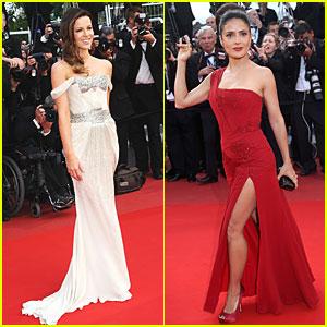 Kate Beckinsale & Salma Hayek: Gucci Glamorous