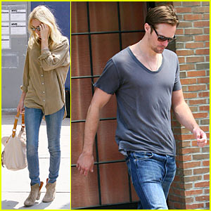 Kate Bosworth & Alexander Skarsgard: Hotel Hook-Up