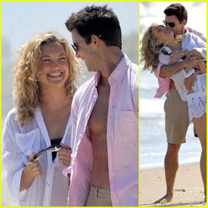 Kate Hudson & Colin Egglesfield: Bangin' Beach Bods!