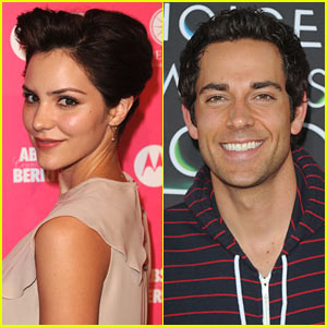 Katharine Mcphee And Zachary Levi