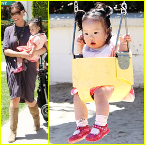 Katherine Heigl & Naleigh Kelley: Playground Party!