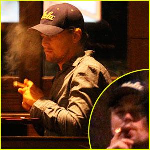 Leo DiCaprio: Cigar Aficionado