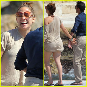 Jennifer Lopez & Marc Anthony: Lovebirds in France!