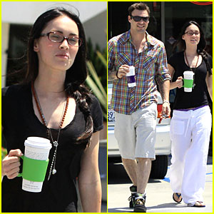 Megan Fox: Coffee Bean Bliss!