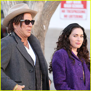 Mickey Rourke: Megan Fox 'Challenging' To Work With