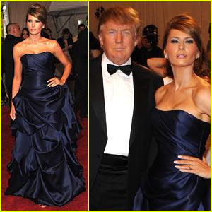 Melania Trump: MET Ball with The Donald!