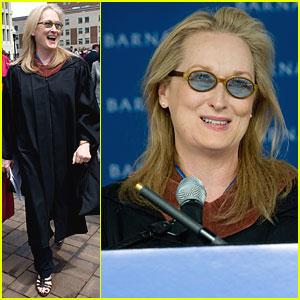 Meryl Streep: Barnard College's Commencement Speaker!