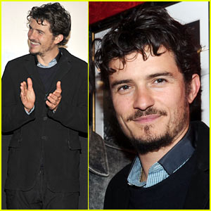 Orlando Bloom Celebrates Jerry Bruckheimer