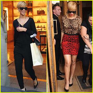 Rihanna: Dublin Shopping Spree!