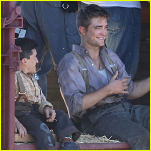 Robert Pattinson: I've Been Working on The Railroad...