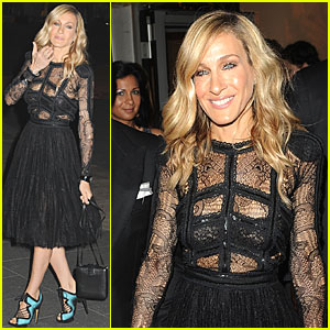 Sarah Jessica Parker: Elie Saab for SATC2 After-Party!