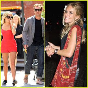 Jude Law & Sienna Miller: Pastis Pair