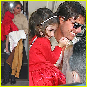 Suri Cruise: Let's Go See A Broadway Show!