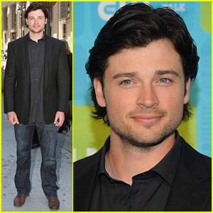 Tom Welling: CW UPFRONTS 2010!