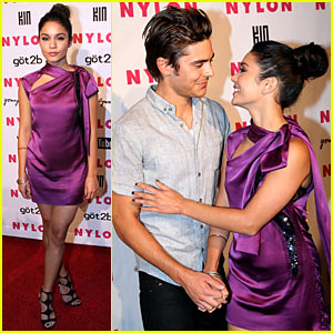 Zac Efron: NYLON Party with Vanessa Hudgens!