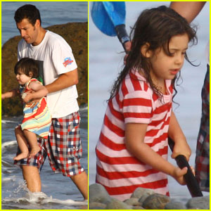Adam Sandler: Sadie and Sunny Day at the Beach