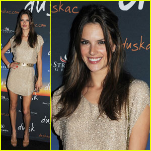 Alessandra Ambrosio: Party From Dusk 'Til Dawn