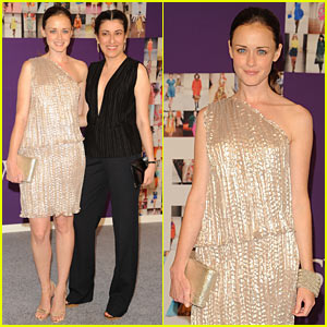 Alexis Bledel: CFDA Awards with Behnaz Sarafpour!