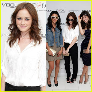 Alexis Bledel Spies Vogue Eyewear