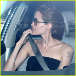 Angelina Jolie: SUR Birthday Lunch!
