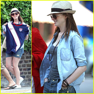 Anne Hathaway: World Cup Watcher