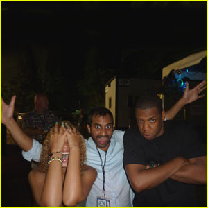 Beyonce &#038; Jay-Z: Proud Parents of Aziz Ansari