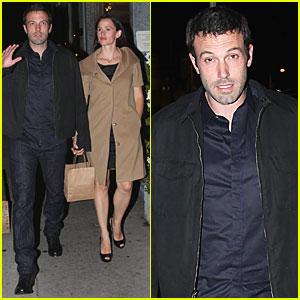Ben Affleck & Jennifer Garner: Anniversary Dinner!
