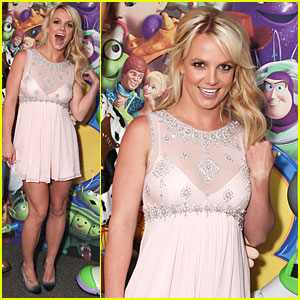 Britney Spears: 'Toy Story 3' Premiere!