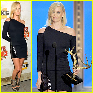 Charlize Theron Wins Decade of Hotness Award!
