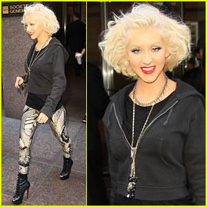 Christina Aguilera: Bionic Hoodie