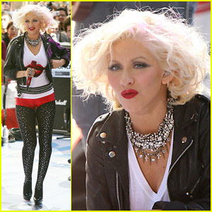 Christina Aguilera: Bionic Out 'Today'