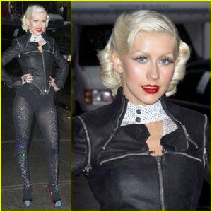 Christina Aguilera: Lost On Letterman