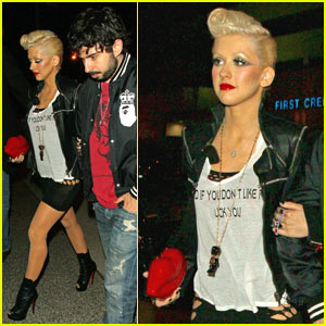 Christina Aguilera: No Business Like Show Business!