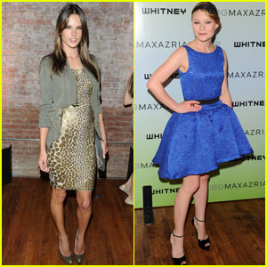 Emilie de Ravin & Alessandra Ambrosio: Night At The Whitney