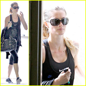 Gisele Bundchen: Summer Workout