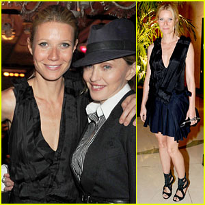 Gwyneth Paltrow & Madonna: Claridge's Catch-Up