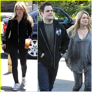 Hilary Duff & Mike Comrie: Maxwell Dog Duo