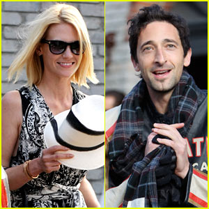 January Jones & Adrien Brody: Memorial Day Date