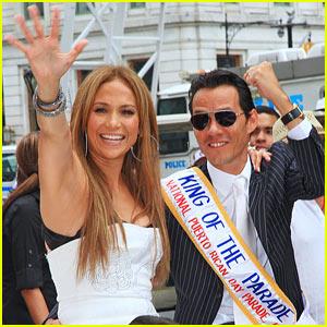Jennifer Lopez & Marc Anthony: Puerto Rican Day Parade