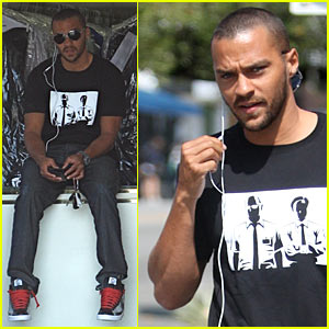 Jesse Williams: Dry Cleaning Pick-Up!