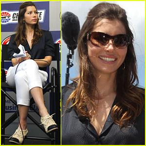 Jessica Biel: NASCAR Spring Cup Series