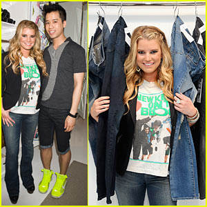 Jessica Simpson Jeanswear Sneak Peek!