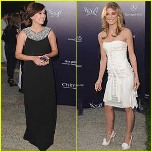AnnaLynne McCord & Jessica Stroup: Butterfly Beauties